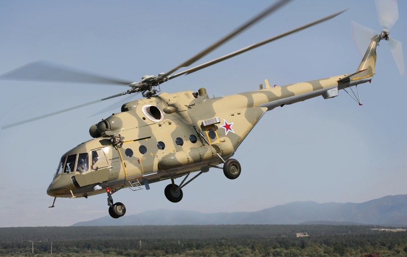 Транспортно-десантный вертолет Ми-8