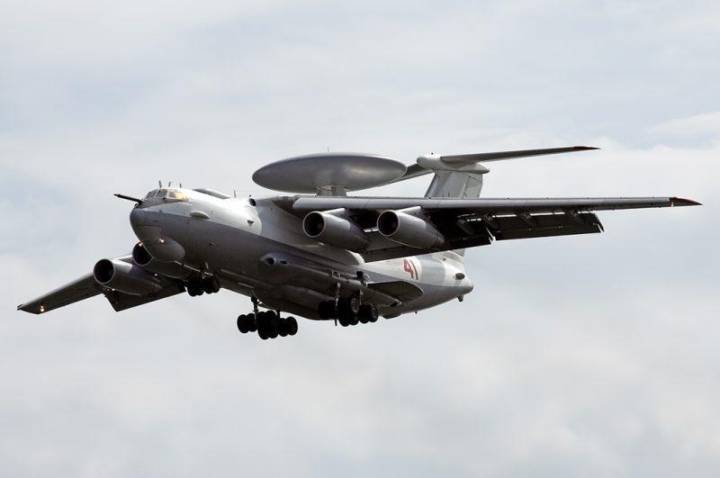 Самолет дальнего радиолокационного обнаружения и наведения А-50