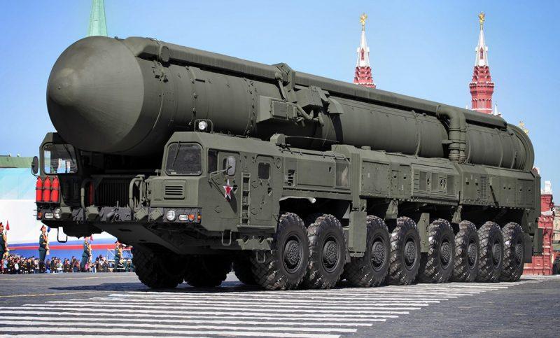 """Стратегический ракетный комплекс с межконтинентальной баллистической ракетой РТ-2ПМ2 """"Тополь-М"""""""