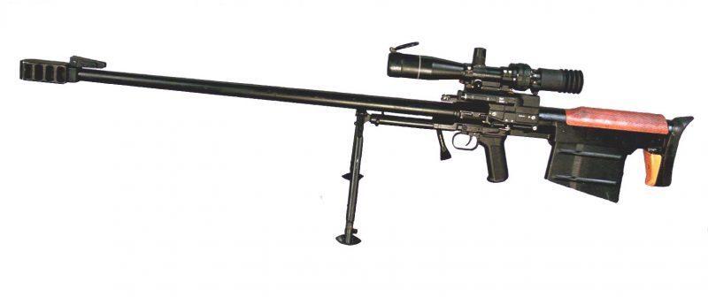 Снайперская винтовка КСВК (СВН-98)