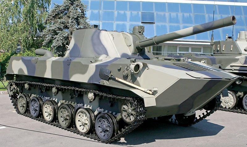 "120-мм самоходное артиллерийское орудие 2С9 ""Нона-С"""