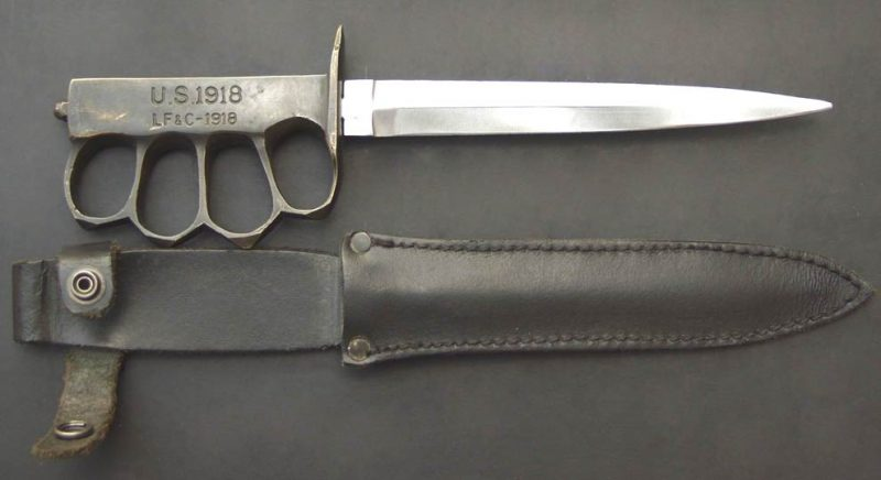Нож-кастет M1918 MARK 1