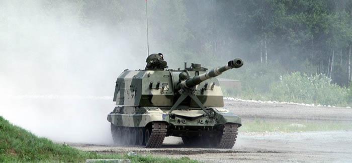 "152-мм самоходная гаубица 2С19 ""Мста-С"""