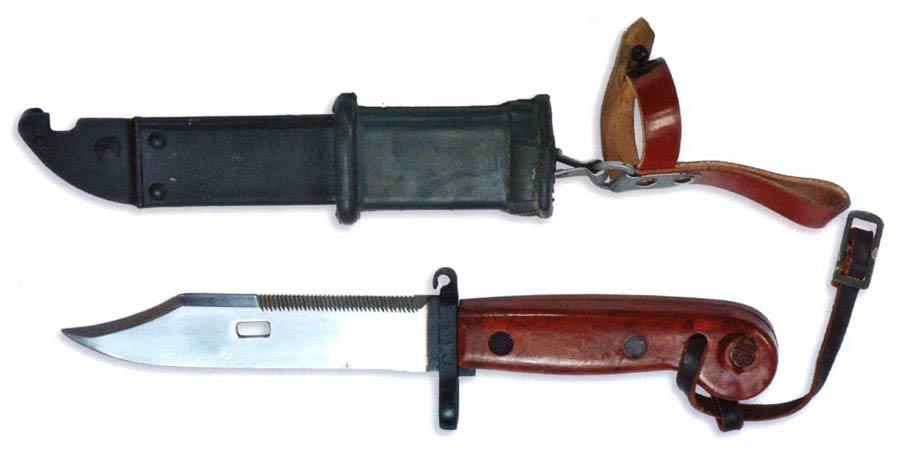 Штык-нож 6X3 к автомату АКМ
