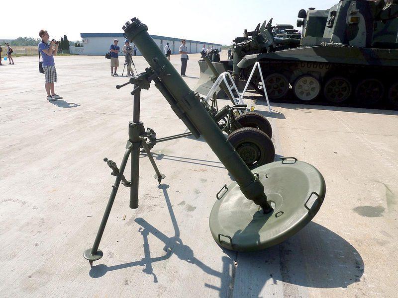 """120-мм минометный комплекс 2С12 """"Сани"""""""