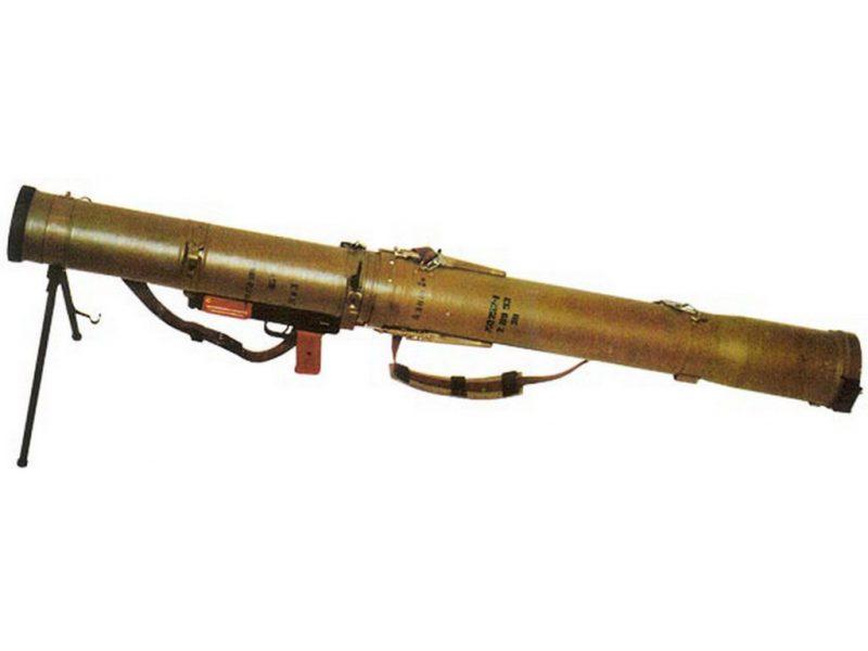 Реактивный огнемет РПО