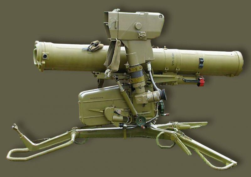 """Противотанковый ракетный комплекс """"Фагот"""" (9К111)"""