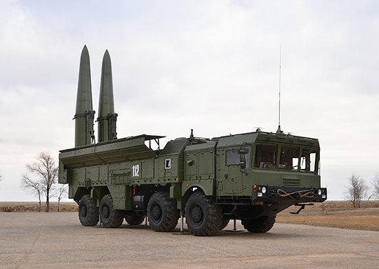 """Ракетный комплекс оперативно-тактического назначения """"Искандер"""""""