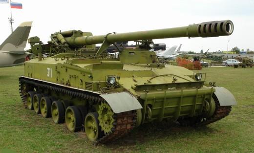 """152-мм самоходная пушка 2С5 """"Гиацинт"""""""