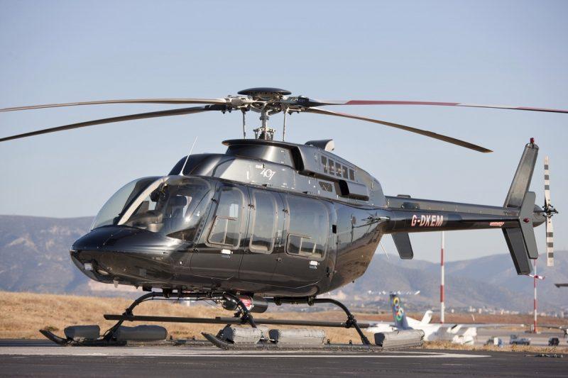 Легкий многоцелевой вертолет Белл 407