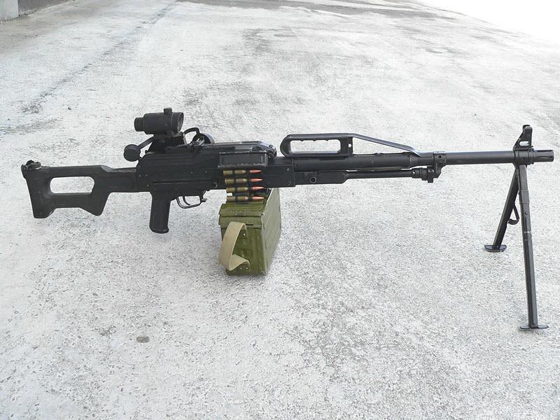 """Единый пулемет """"Печенег"""" (6П41)"""