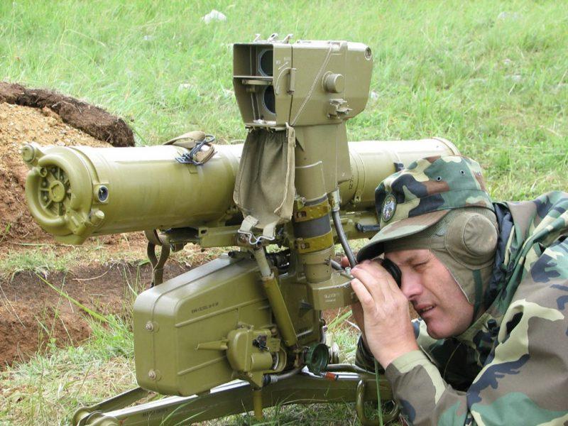 """Противотанковый ракетный комплекс """"Конкурс"""" (9К113)"""