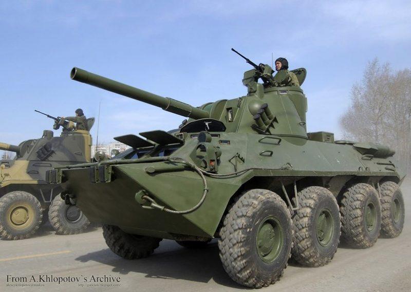 """120-мм самоходное артиллерийское орудие 2С23 """"Нона-СВК"""""""
