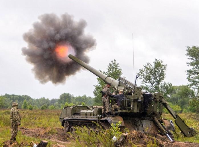 """203-мм самоходная пушка 2С7 """"Пион"""""""