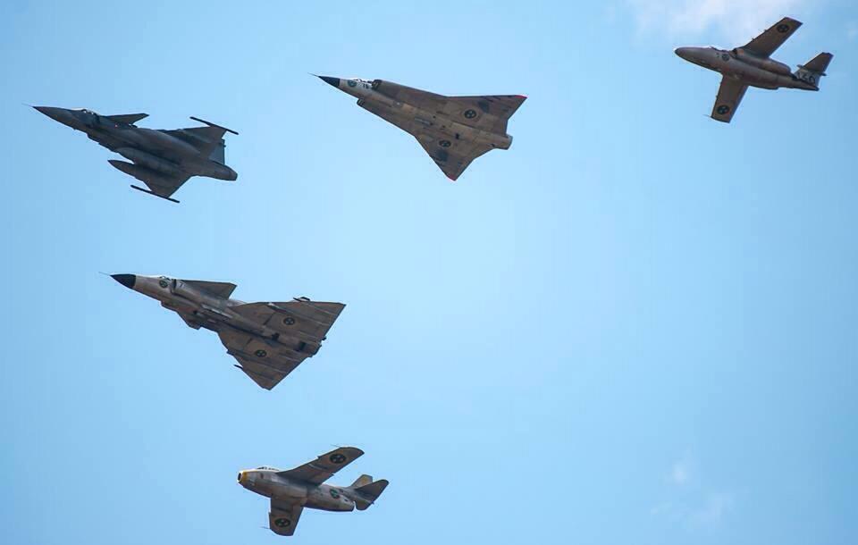 Военно-воздушные силы Швеции