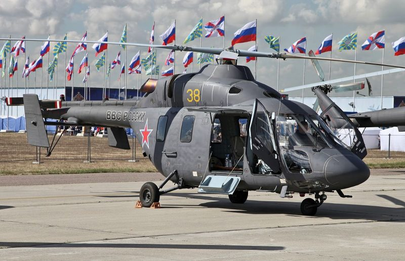 """Вертолет """"Ансат"""""""