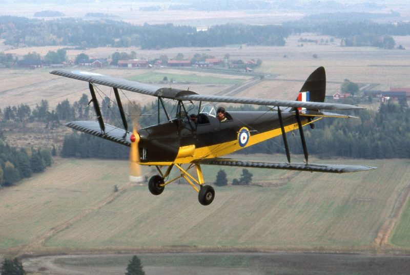 "Самолет DH-82 ""Тайгер Мот"""