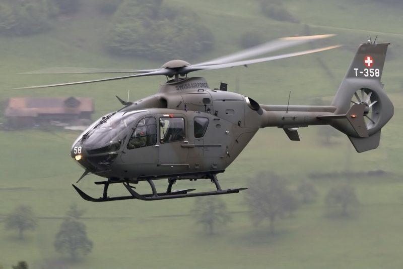 Вертолет Еврокоптер EC135/EC635