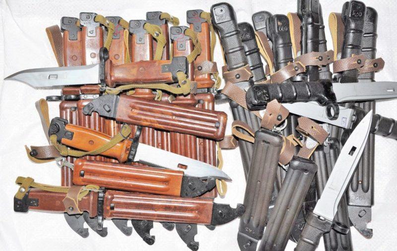 Штык-ножи 6х3, 6х4 и 6х5