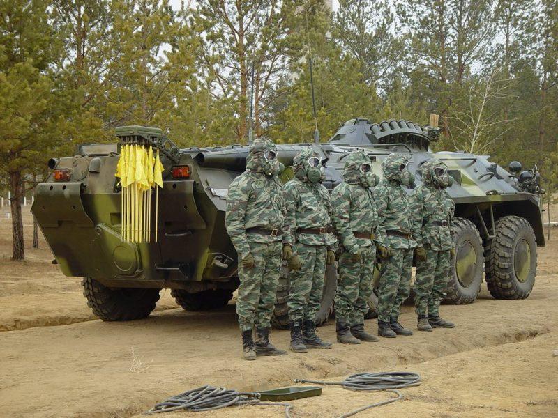 Противоатомная защита войск