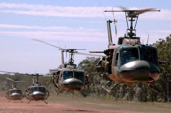 Вертолеты во Вьетнаме