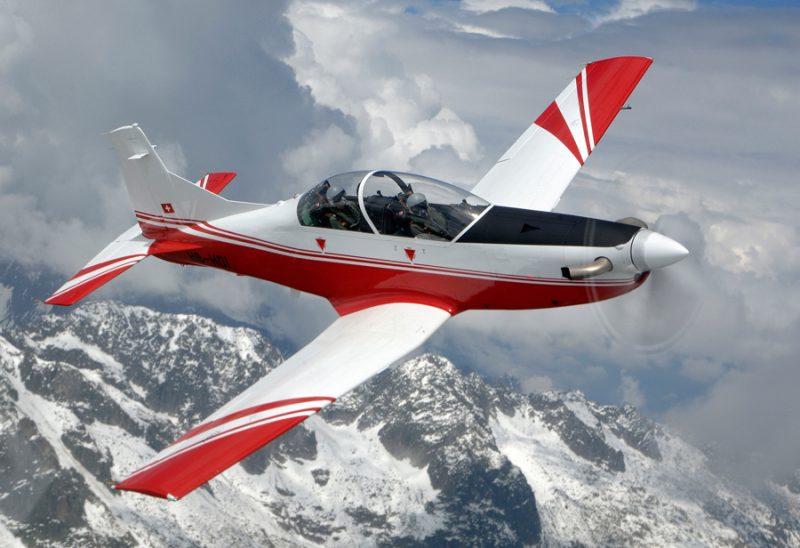 Самолет Пилатус РС-7