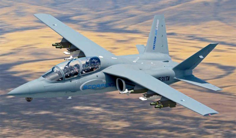 Боевой самолет Scorpion