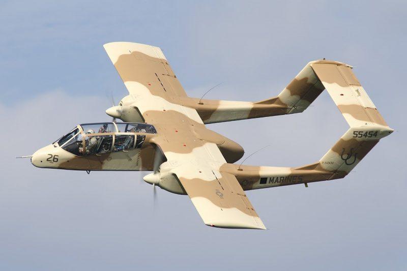 "Самолет Норт Американ OV-10 ""Бронко"""
