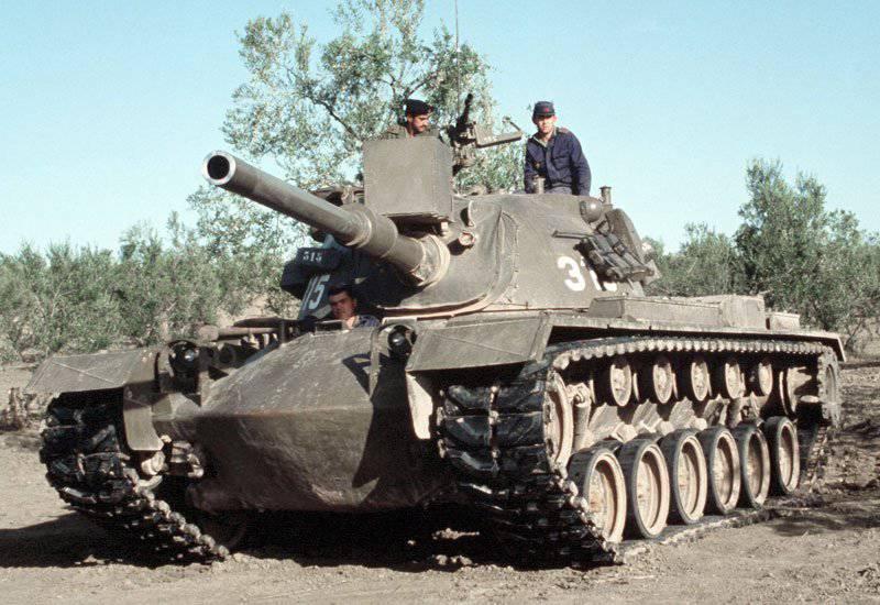 Средний танк М48