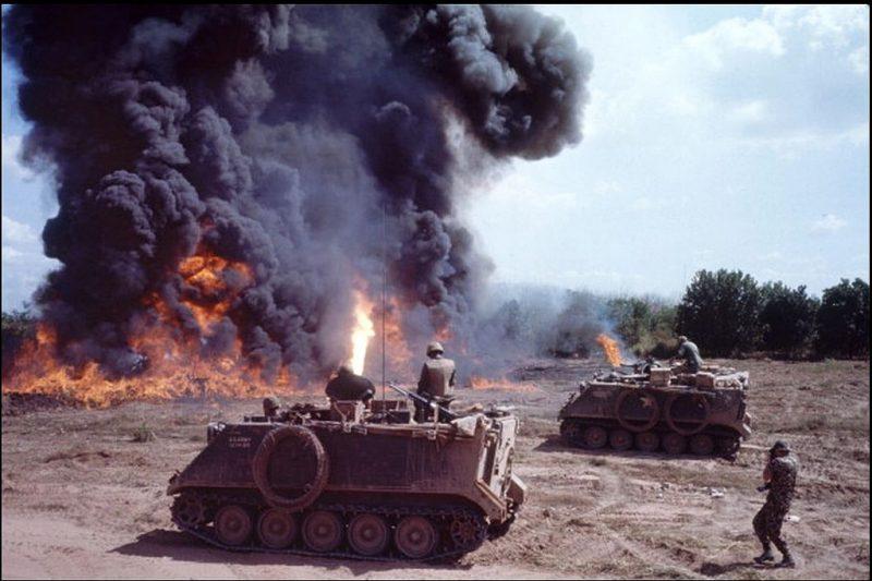 Самоходные огнеметы М132