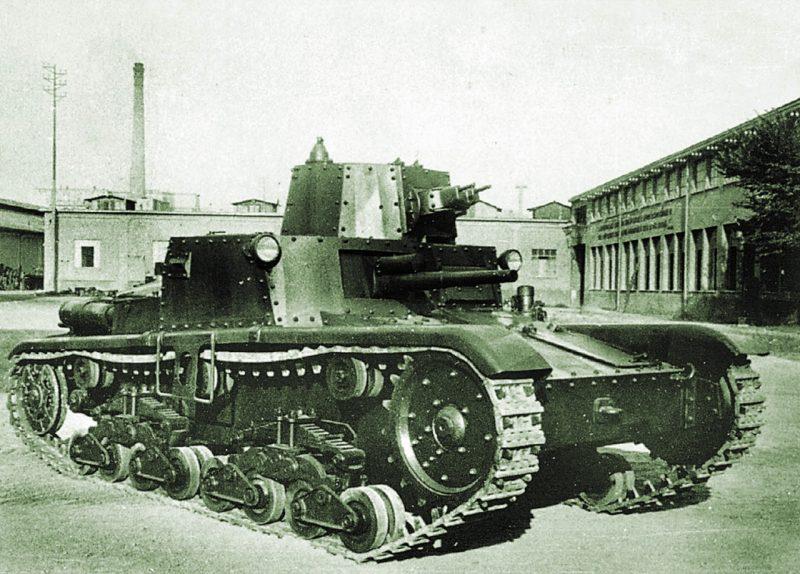 Итальянские танки Второй мировой войны