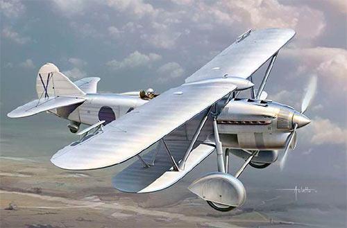 """Самолет """"Фиат"""" CR-32"""