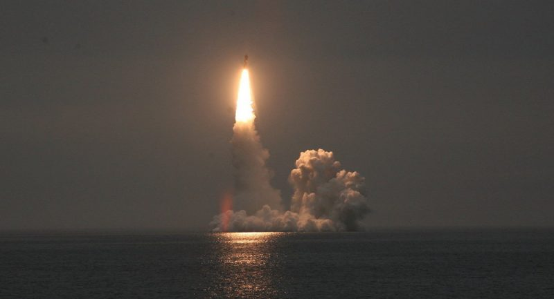 Баллистические ракеты для российских подводных лодок