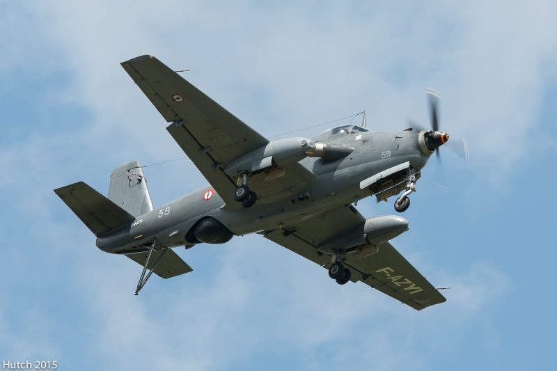 Палубный противолодочный самолет Br.1050«Ализе»