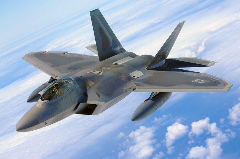 Истребитель-невидимка F-22A