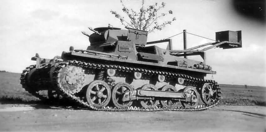 """Бронированная гусеничная машина для инженерно-штурмовых войск """"Ladungsleger I"""""""