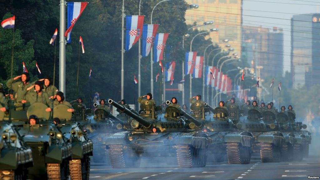 Война в Хорватии: операция «Олуя»