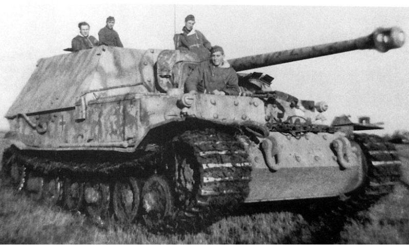 «Фердинанд» - тяжелый истребитель танков