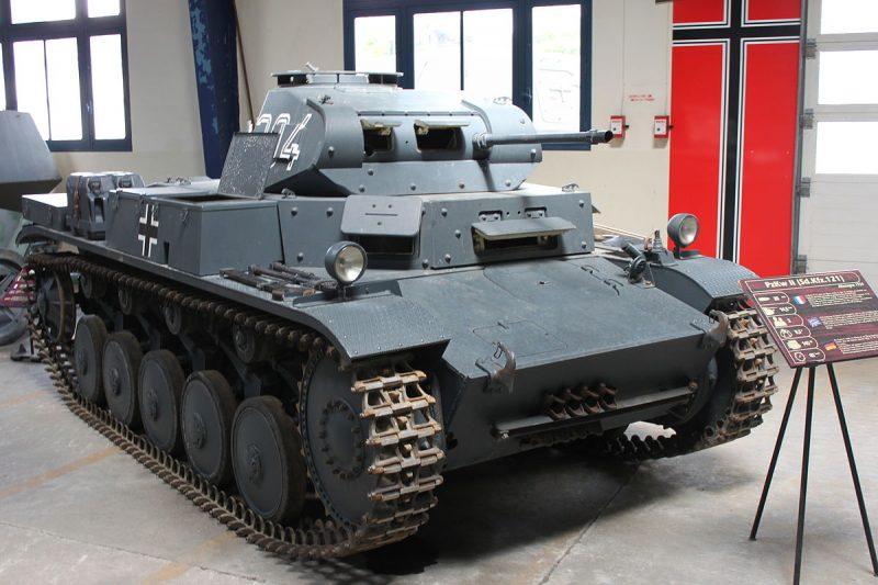 Легкие танки Pz.I и Pz.II