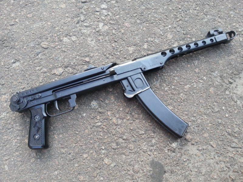 Пистолет-пулемет Судаева