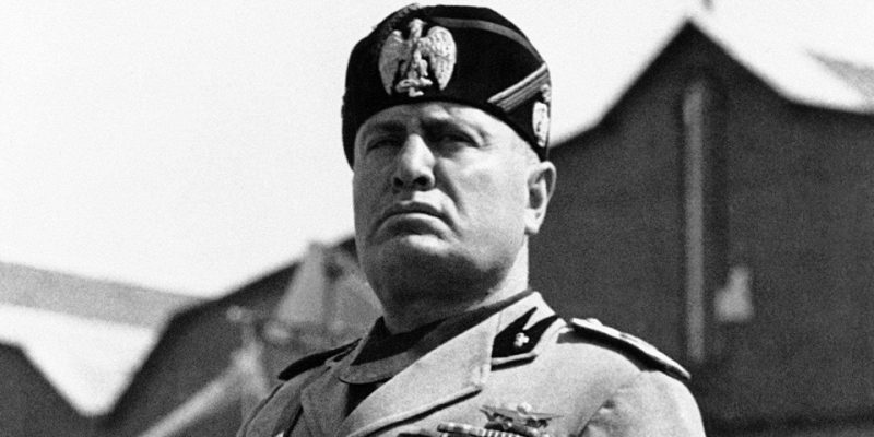 Бенито Муссолини - дуче Италии