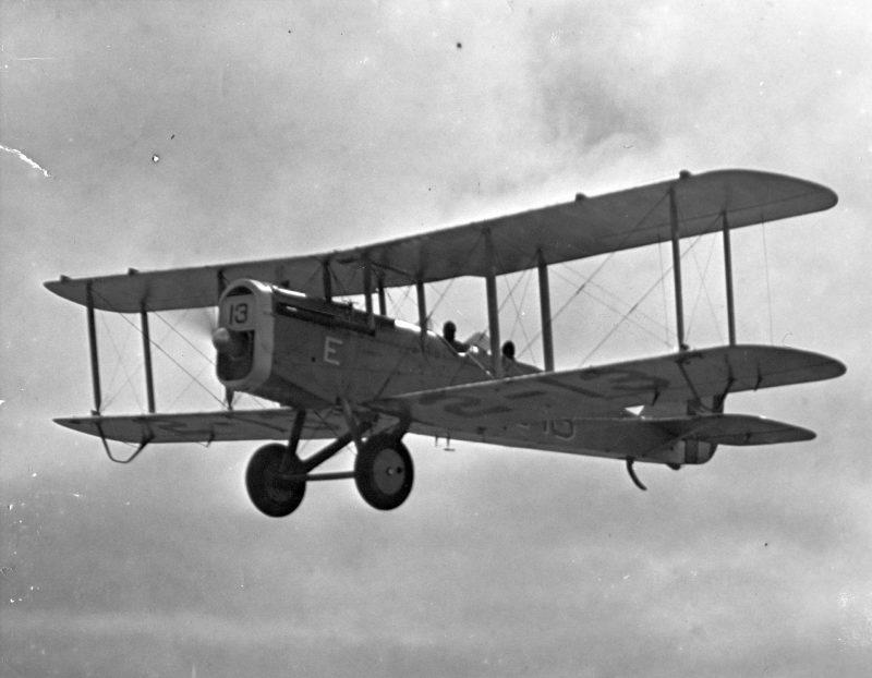 Легкие бомбардировщики Эйрко DH-4/DH-9