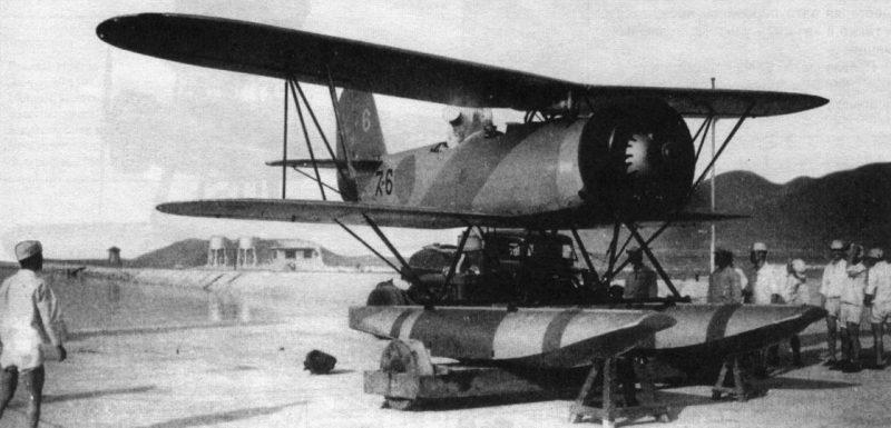 Самолет разведчик Ватанабе E9W