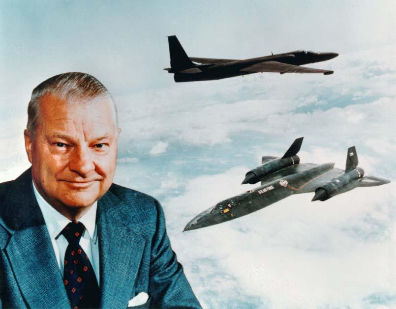 Кларенс Джонсон - выдающийся американский авиаконструктор