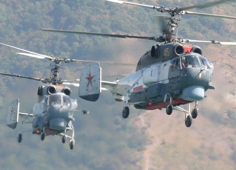 Корабельный многоцелевой вертолет Ка-27