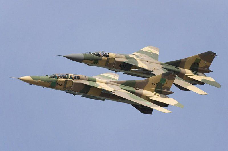 МиГ-23 - истребитель с крылом изменяемой стреловидности