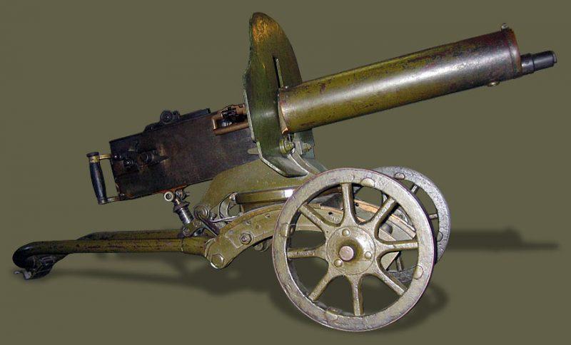 Пулемет «Максим» образца 1910 г.