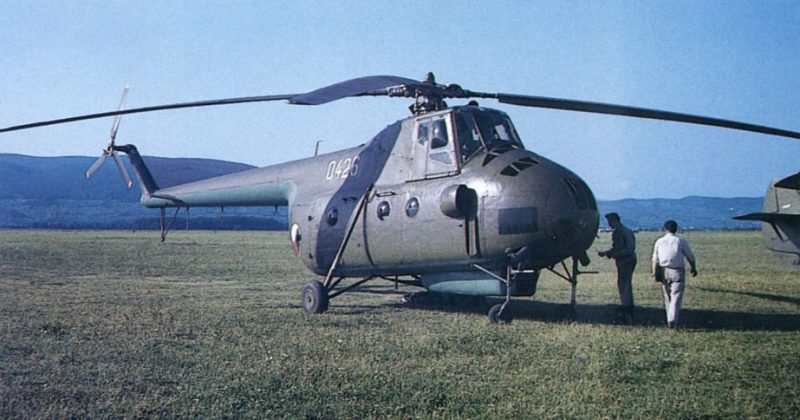 Многоцелевой вертолет Ми-4