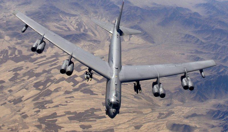 Стратегический бомбардировщик В-52H «Стратофортресс» и его боевое применение