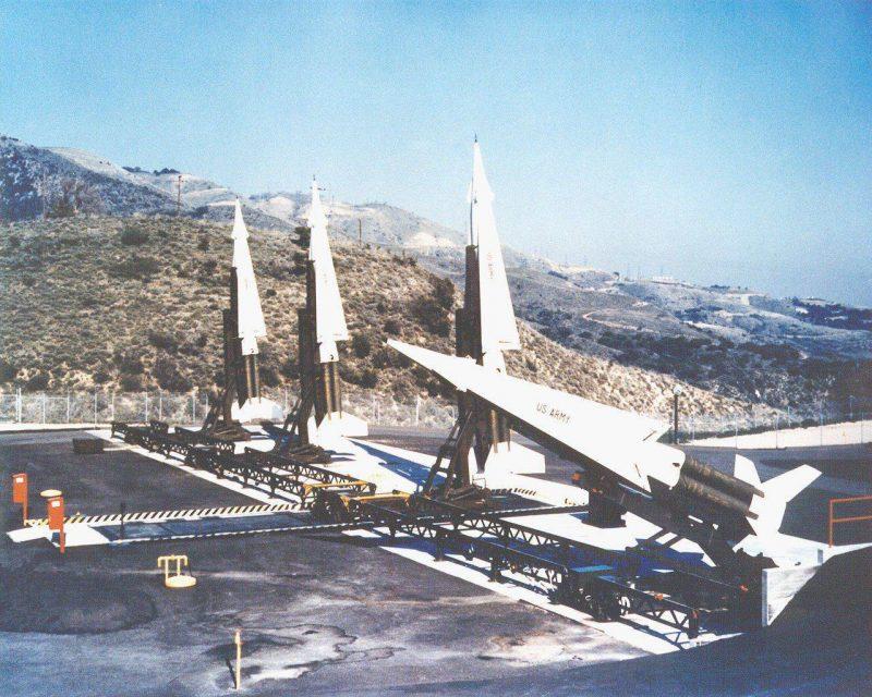 Зенитная управляемая ракета (ЗУР) «Найк»